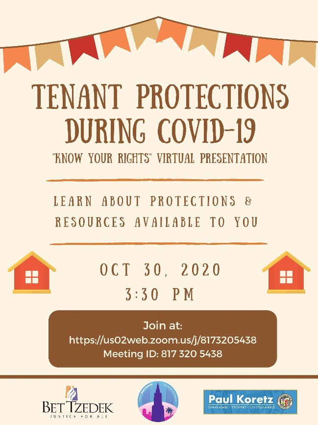 Tenant Protections During COVID-19