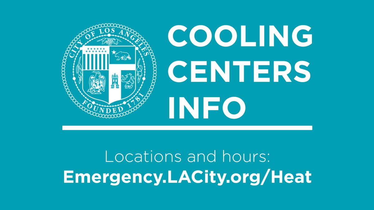 Cooling Centers in Los Angeles
